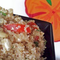 Greek-style Cold Quinoa Salad recipe