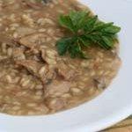 Creamy Quinoa Mushroom Risotto recipe