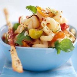 Cavatappi With Tomatoes And Ham recipe