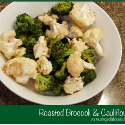 Baked Broccoli And Cauliflower recipe