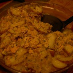 Potato And Onion Gratin recipe