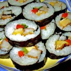 Futomaki Sushi Roll recipe