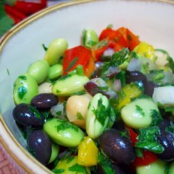 Fresh Edamame Salad recipe