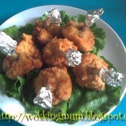 Deep Fried Chicken Drumlets recipe
