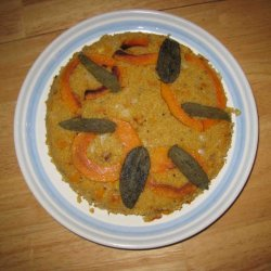 Quinoa Pie With Butternut Squash recipe