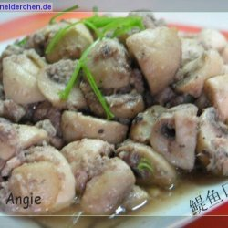 Angies Sauteed Mushrooms With Anchovies recipe