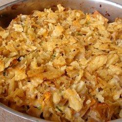 Tuna Potato Chip Casserole recipe