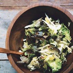 Escarole, Fennel, and Oak-Leaf Salad recipe