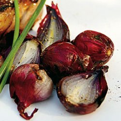 Grilled Red Pearl Onions recipe