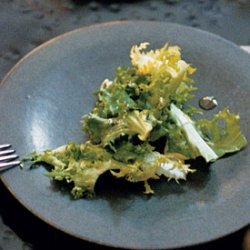 Endive and Chicory Salad with Grainy Mustard Vinaigrette recipe