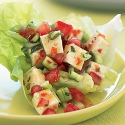 Spicy Lime and Herbed Tofu in Lettuce Cups recipe