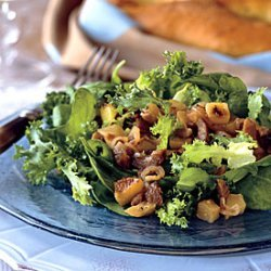 Warm Chestnut and Apple Salad recipe
