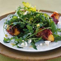 Peach and Arugula Salad recipe