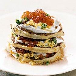 Caviar Pancakes recipe