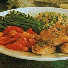 Asparagus with Lemon Vinaigrette recipe