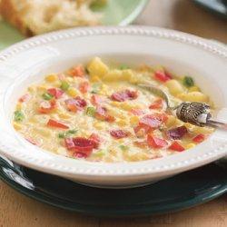 Corn and Bell Pepper Chowder recipe