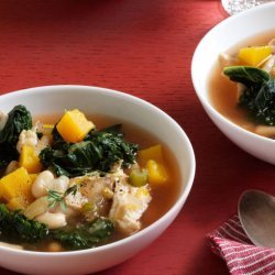 Butternut Squash and White Bean Soup recipe
