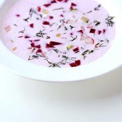 Chilled Buttermilk Soup recipe