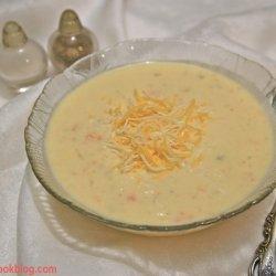 Cheese and Potato Soup recipe