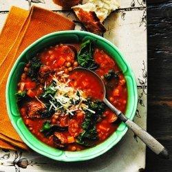 Lentil, Kale, and Sausage Soup recipe