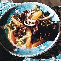 Red Leaf Salad with Oranges recipe