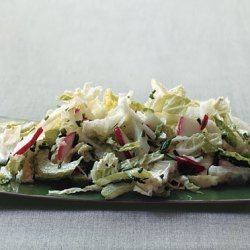 Napa Cabbage Salad with Buttermilk Dressing recipe