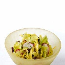 Celery, Radish, and Olive Salad recipe