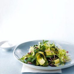 Ribboned Zucchini Salad recipe