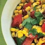 Sweet Corn and Tomato Salad with Fresh Cilantro recipe