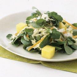 Watercress and Mango Salad recipe