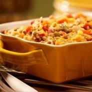 Vegetarian Brown Rice Casserole recipe