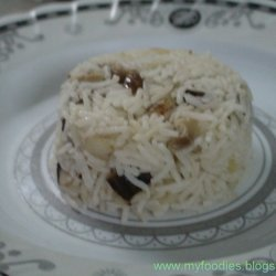 Mushroom Steam Rice recipe