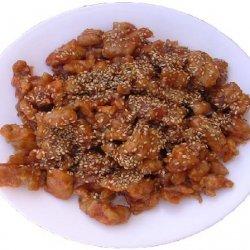 Sesame Fried Chicken recipe