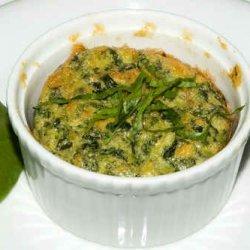 Creamy Spinach Souffle recipe