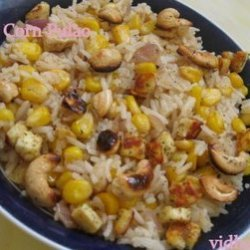 Corn Puloa recipe