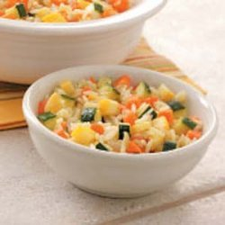 Rice With Summer Squash recipe