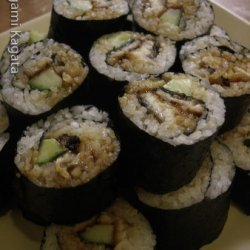 Grilled Eel Sushi recipe