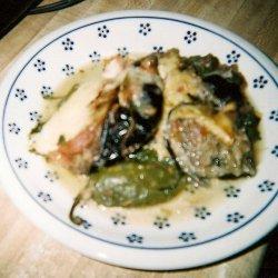 Spinach Eggplant Casserole recipe