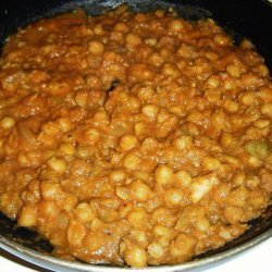 Curry Chickpeas recipe