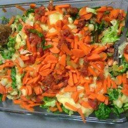 Cheesy Veggie Potatoes recipe