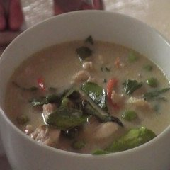 Thai Green Curry With Chicken - Gang Galee Gai recipe