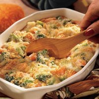 Swiss Vegetable Casserole recipe