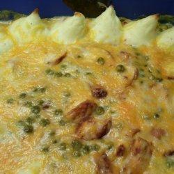 Italian Potato Topped Chicken Bake recipe