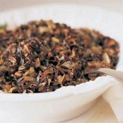 Wild Rice,mushroom And Cranberry Dressing recipe