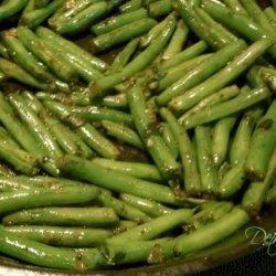 Roasted Garlic & Oregano Green Beans recipe
