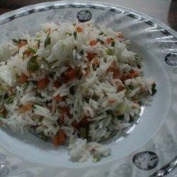 Vege Steam Rice recipe