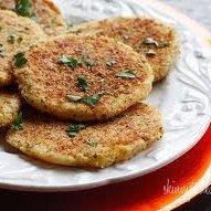 Leftover Parmesan Mashed Potato Patties recipe
