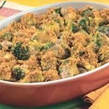 Broccoli And Three-cheese Casserole recipe