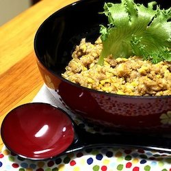 Stir Fry Soy Bean Sprouts And Minced Pork recipe