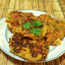 Spicy Sweet Potato Latkes recipe